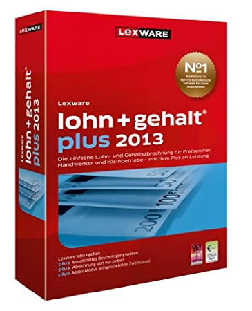 Lexware Lohn+Gehalt Plus 2013 Update (Version 17.00)