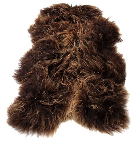 tappeto-pura-lana-vergine-di-pecora-colore-caramello-sheepskin-schafspelz-peau-mouton-di-montone-med