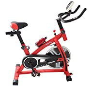 Buy Medicarn Aerobic Bike Training Cycle With Balanced 15kg Spinning Flywheel Exercise Fitness Cardio Workout Home Cycling Machine Model (MEDB001) -image