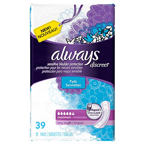 always-discreet-incontinence-pads-maximum-long-length-39-count