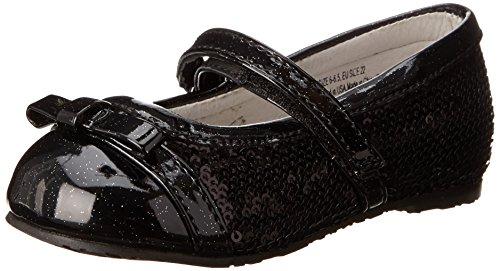 Pediped Flex Penny Ballet Flat (Toddler/Little Kid),Black,22 Eu (6-6.5 E Us Toddler) front-1056253