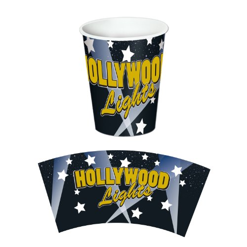 Hollywood Lights Beverage Cups   (8/Pkg)