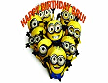 buy Customized Despicable Me 2 Minions Cake Toppers Frosting Sheets Edible Image