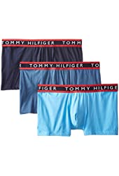 Tommy Hilfiger Men's Cotton Stretch Trunk (Pack of 3)