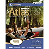 51Yn57qDD9L. SL160  Large Map of The United States 2012 North America Large Print Road Atlas (Road Atlas United States ? Canada ? Mexico)