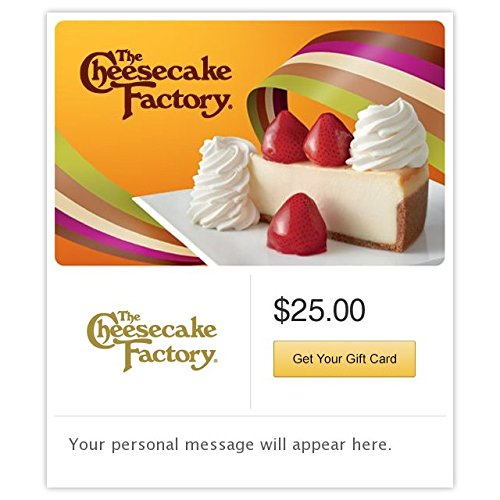 The Cheesecake Factory Fresh Strawberry Cheesecake Gift Cards - E-mail Delivery (Electronic Gift Cards Restaurants compare prices)