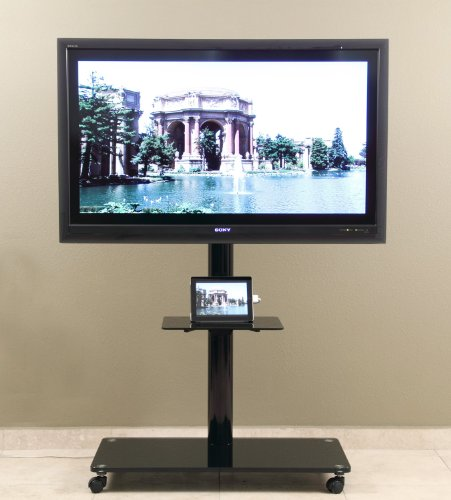Transdeco Led/Lcd Tv Stand / Flat Panel Display Mounting System For 40-65 Inch Lcd/Led Television