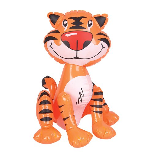 Rhode Island Novelties Inflatable Tiger