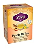 Yogi Teas, 16 Tea Bags (Pack of 6), Detox, Peach