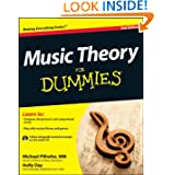 Music Theory For Dummies, with Audio CD by Michael Pilhofer and Holly Day