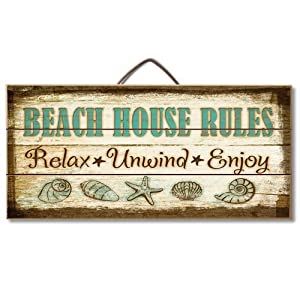 51Yn9dr8qnL._SS300_ 100+ Wooden Beach Signs and Wooden Coastal Signs