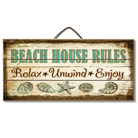 51Yn9dr8qnL._SS450_ 100+ Wooden Beach Signs and Wooden Coastal Signs