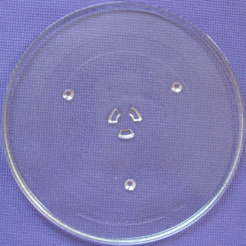 """Microwave Glass Carousel /Turntable Tray / Plate 14.25 Inches (14 1/4"""") 01"""