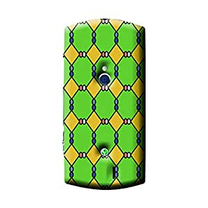 Garmor African Pattern Design Plastic Backcover for Sony Xperia Neo V- (African 8)