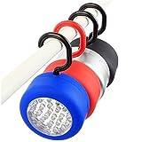 My Vision 屋外 屋内 マグネット 付き キャンプ フック LED ランプ ライト 懐中電灯 2個セット カラー ランダム MV-S190002