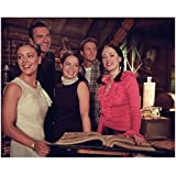 Charmed 8x10 Photo Holly Marie Combs/Piper Halliwell, Alyssa Milano Phoebe Halliwell, Rose McGowan/Paige Matthews, Julian McMahon/Cole Turner & Brian Krause/Leo Wyatt Smiling Pose 1 kn