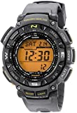 Casio Mens PAG240-8 Pathfinder Triple Sensor Tough Solar Digital Watch