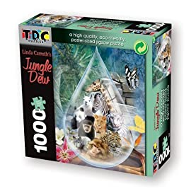 TDC Games Eco Friendly Puzzle - Jungle Dew