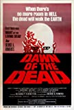 Dawn of The Dead 1978) Great Art work Reproduction Poster Size 11.7