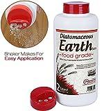 2 Liter Diatomaceous Earth Shaker with Food Grade DE