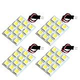 【断トツ144発!!】 M35 ステージア LED ルームランプ 4点セット [H13.10~H19.6] ニッサン 基板タイプ 圧倒的な発光数 3chip SMD LED 仕様 室内灯 カー用品 HJO