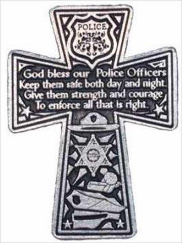 Cathedral Art KVC180 Auto Visor Clip, Policeman's Cross, 2-3/8-Inch (Jesus Clip compare prices)