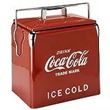 1950年代の復刻デザイン!コカコーラ ピクニックストレージ/レッド クーラーボックス