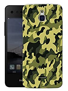 """Camouflage Army Pattern Printed Designer Mobile Back Cover For """"Google Infocus M350"""" By Humor Gang (3D, Matte Finish, Premium Quality, Protective Snap On Slim Hard Phone Case, Multi Color)"""