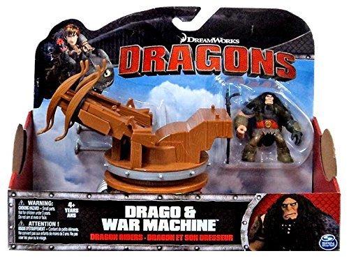 DreamWorks Dragons Dragon Piloti Drago & War Machine