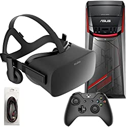 Oculus Rift 3 Items Bundle: Oculus Rift Virtual-Reality Headset & ASUS G11CD Desktop Package 8GB 1TB with Mytrix High Quality HDMI Cable(Versin EE.UU., importado)