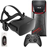 Oculus Rift 3 Items Bundle: Oculus Rift Virtual-Reality Headset & ASUS G11CD Desktop Package 8GB 1TB with Mytrix HDMI Cable