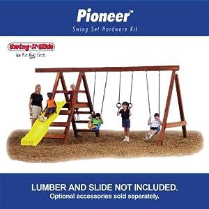 Pioneer Custom DIY Play Set Hardware Kit by Swing-N-Slide
