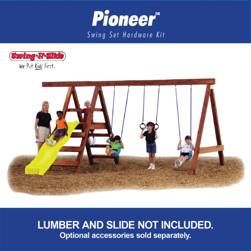 Swing - N - Slide Pioneer Custom Ready - To - Build Swing Set Kit
