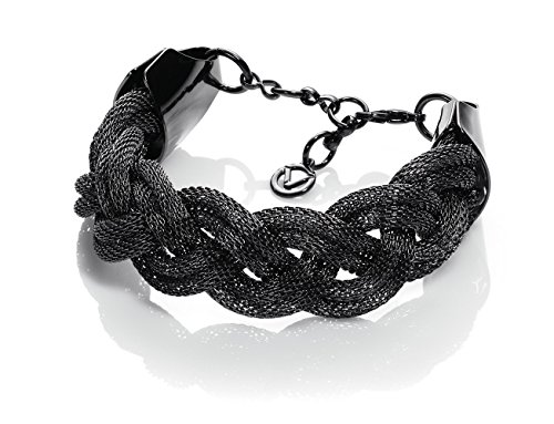 Viceroy Fashion 3090P01010 Metallo Bracciale Placcato gun Nero