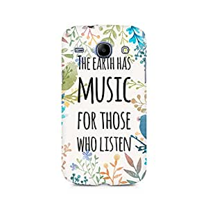 Ebby Music of Earth Premium Printed Case For Samsung Core I8262