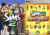 echange, troc Les Sims 2 + Les Sims 2 - Kit: Fun en Famille