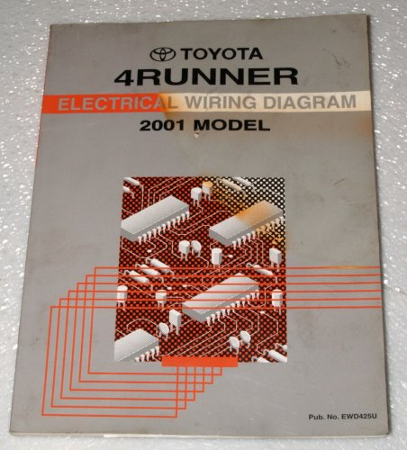 2001 Toyota 4Runner Electrical Wiring Diagrams (VZN180, VZN185 Series) (2000 4runner Service Manual compare prices)