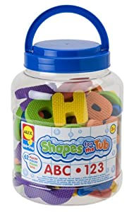 Alex Toys Shapes For The Tub - Abc & 123