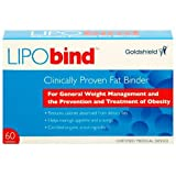 Lipobind Clinically Proven Fat Binder 60 Tabletsby Lipobind