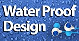 Pyle PWP25W Waterproof Aqua Sport Headphones White/Blue