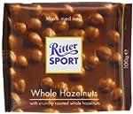 Ritter Sport Whole Hazelnuts 100 g (P...