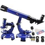 Gods Kingdom Telescope Microscope Set Science Nature Educational Astronomy Learning Kids Toy