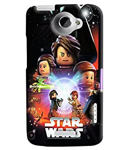 Blue Throat Star Wars Printed Designer Back Cover/Case For HTC One X