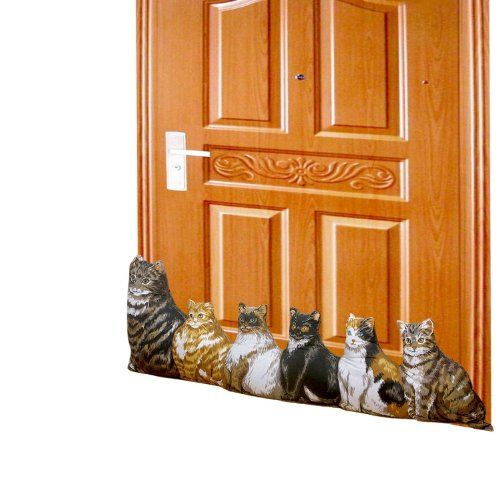 Hampton Direct Cat Draft Stopper Door Stopper Energy