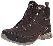 Ahnu Women's Sugarpine WP Hiking Boot, Mulch, 5 M US