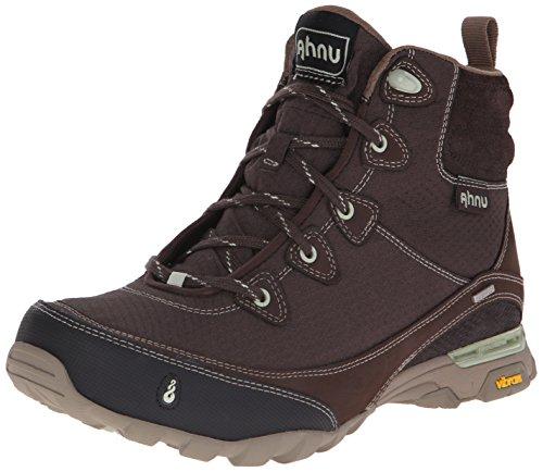 Ahnu Women's Sugarpine WP Hiking Boot, Mulch, 8 M US