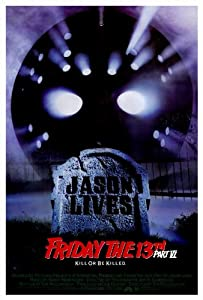Friday the 13th Part 6 Jason Lives Poster 27x40 Thom Mathews Jennifer Cooke David Kagen