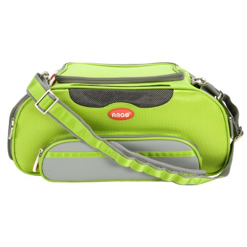Teafco Argo Large Aero-Pet Airline-Approved Pet Carrier, Kiwi Green front-289190