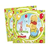 Winnie the Pooh & Piglet Bumper Party Supplies Pack