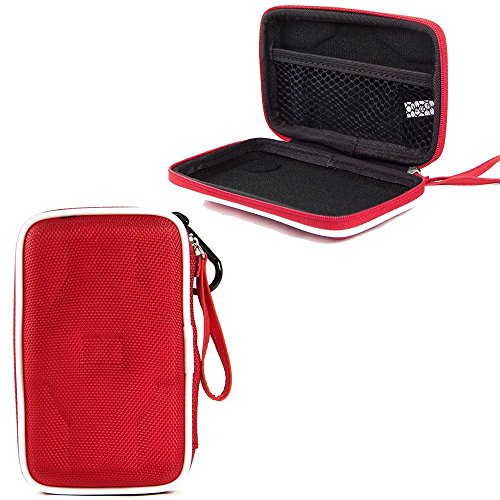 WD 1TB My Passport Ultra Portable External Hard Drive, WD 2TB My Passport Ultra Portable External Hard Drive Premium Semi Hard EVA Compact Portable Hard Drive Case (Red) (Wd 1tb Portable Hard Drive compare prices)
